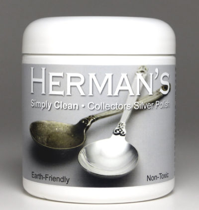 Mr. Herman's efficient, environmentally-friendly, non-toxic silver polish that is kind to your silver!