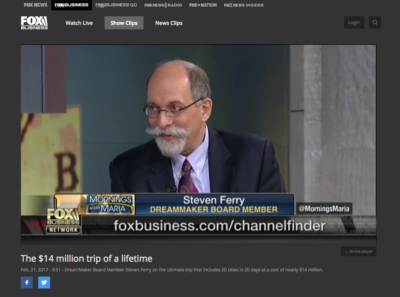 The Institute's Chairman is interviewed on Fox Business News
