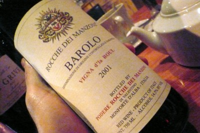 Barolo bottle by atl10trader img 400x266  The Modern Butlers' Journal for Service Professionals Worldwide, September, 2012