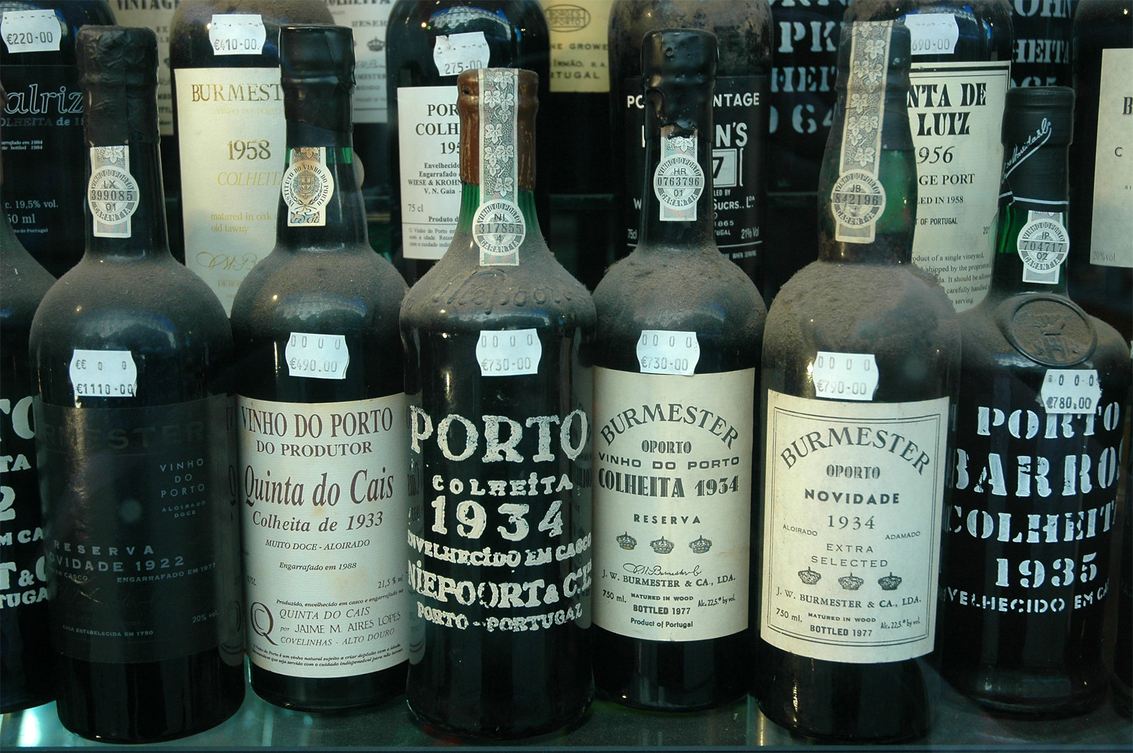 burtons vintage port 1984