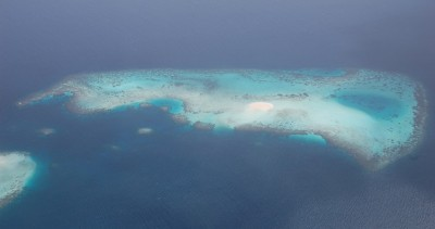 One of the 1000+ Maldives islands