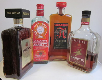 Amaretto Bottles, photo by Infrogmation